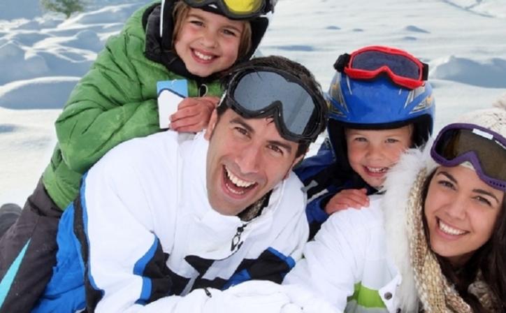 Skiën met de familie