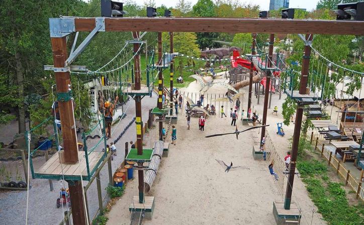 Schoolreis Dinoland Zwolle